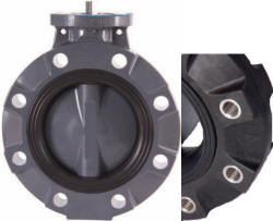 Hayward BYV Actuator Ready Lugged Butterfly Valve