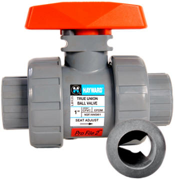Hayward ProFile2 proportional flow control ball valve