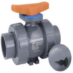 CVH series CPVC true union ball valve socket and threaded connections