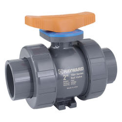 TBH series PVC true union ball valve socket and threaded connections