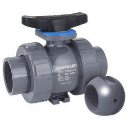 TBH-Z series PVC true union ball valve socket and threaded connections