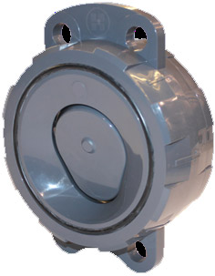 Hayward WCV series PVC wafer check valves